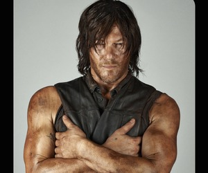 the walking dead, norman reedus, and daryl dixon image