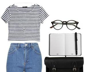 outfit, summer, and backtoschool image