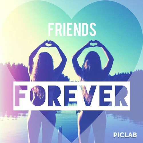 Friends Forever And Ever Uploaded By Candy On We Heart It