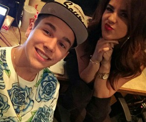 austin mahone, becky g, and becstin image