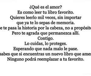love, book, and frases image