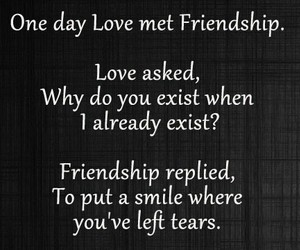 love, friendship, and tears image
