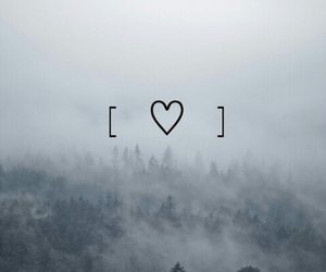 grunge, heart, and pale image
