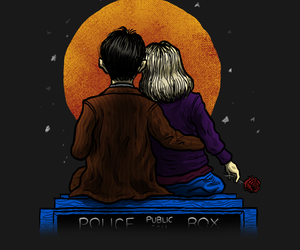 bbc, doctor who, and rose tyler image