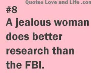 woman, jealous, and funny image