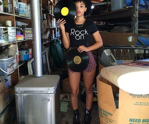 records, black hat, and doc martens image