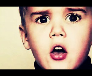 baby and justin image
