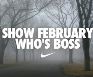 february, fitness, and motivation image