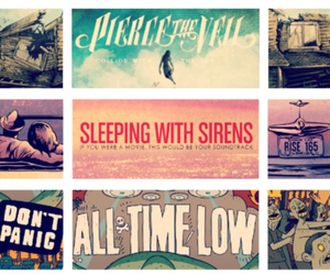 all time low, band, and pierce the veil image