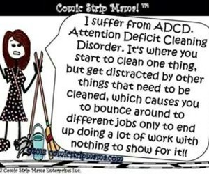 cleaning, life, and funny image