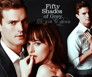 christian grey and movie image