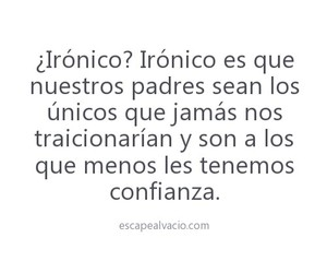 frases, ironico, and padres image