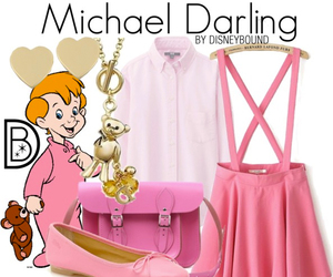 disney, peter pan, and michael darling image