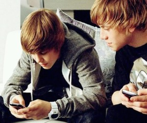justin bieber, one time, and ryan butler image