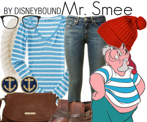 disney, peter pan, and mr. smee image