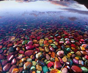 nature, lake, and water image