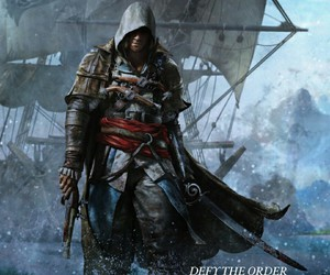 Assassins Creed, pirate, and edward kenway image