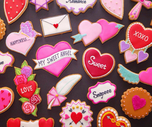 background, Cookies, and icing cookies image