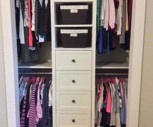 container store, closet organization ideas, and ikea closet organization image
