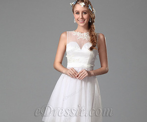 cocktail, dress, and wedding image
