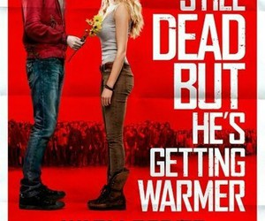 warm bodies, zombie, and movie image