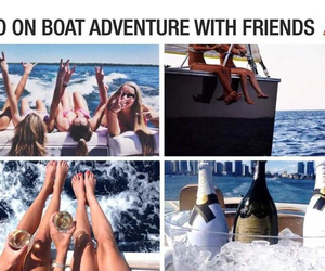 adventure, cruise, and live image