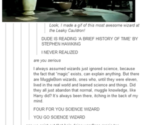 wizard, harry potter, and OMG image