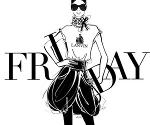 friday, illustration, and Lanvin image