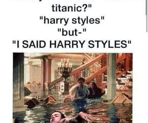 Harry Styles, one direction, and titanic image