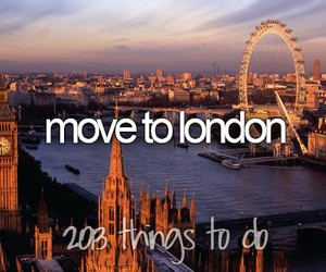 london and Move image