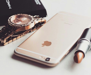 iphone, lipstick, and mac image