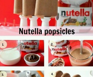 feel, nutella, and popsicles image