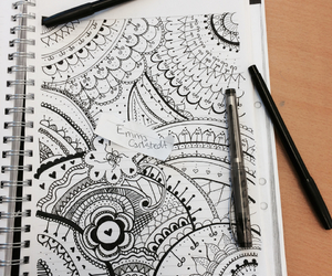 drawing, love, and beautiful image