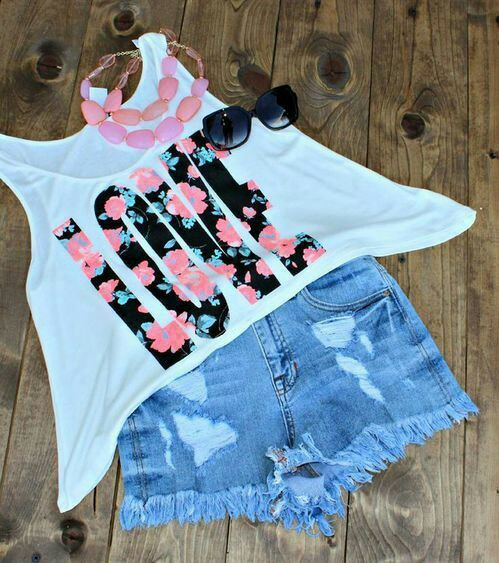 love, outfit, and summer image