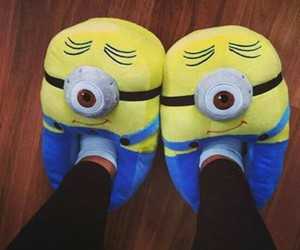 minions, shoes, and pantoffels image