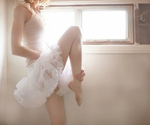ballerina, pretty, and vintage image