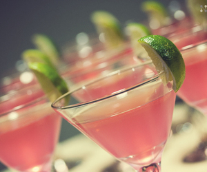 pink, drink, and margarita image