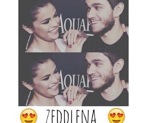 zedd, couple, and selena image