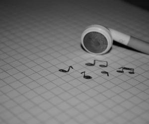 headphones, music, and notes image