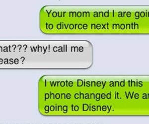 funny, disney, and message image
