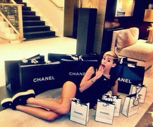 chanel and miley cyrus image