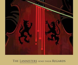 game of thrones, red wedding, and lannister image