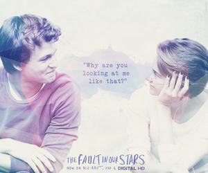 the fault in our stars, couple, and tfios image