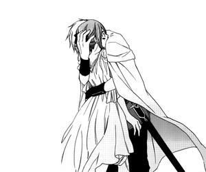 manga, zen, and shirayuki image