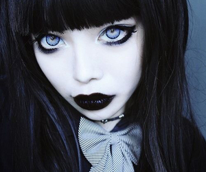 goth, black, and gothic image