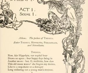 arthur rackham, illustration, and Dream image