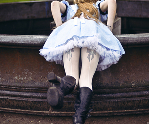 girl and alice image
