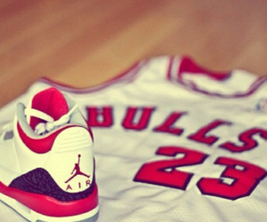 23, Basketball, and chicago bulls image
