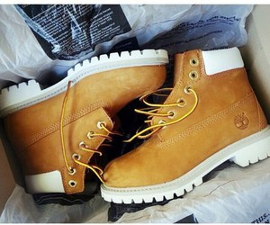 fashion, timberland, and boots image