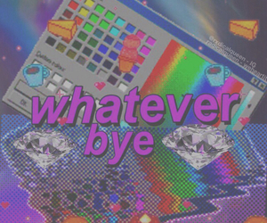 grunge, whatever, and bye image